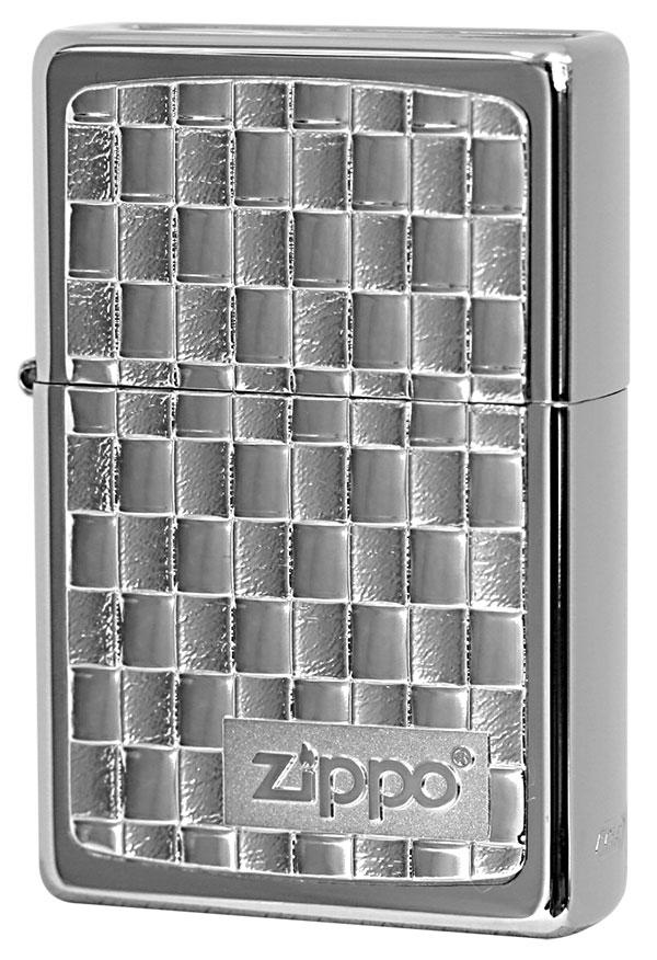 Zippo ジッポー BottomzUp #382 銀チタン 15-2
