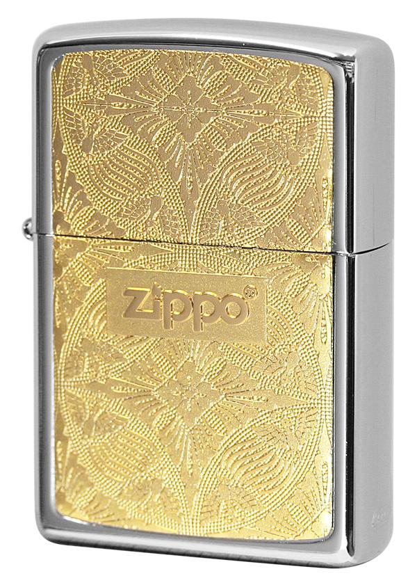 Zippo ジッポー #200 銀チタン 15-7
