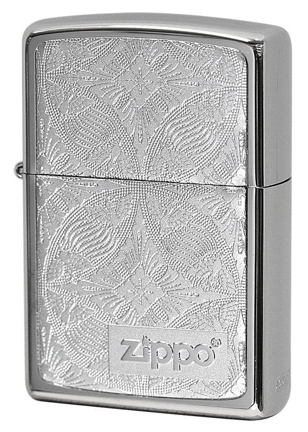 Zippo ジッポー #200 銀チタン 15-16