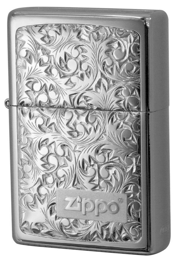 Zippo ジッポー BottomzUp #382 銀チタン #KR-3