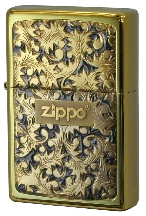 Zippo ジッポー BottomzUp #382 金チタン #K-2