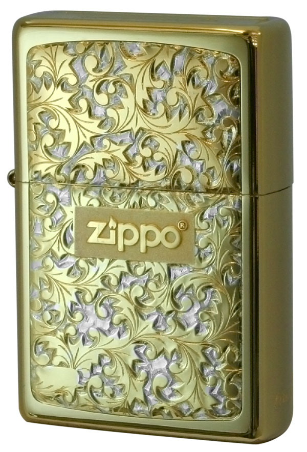 Zippo ジッポー BottomzUp #382 金チタン #K-7