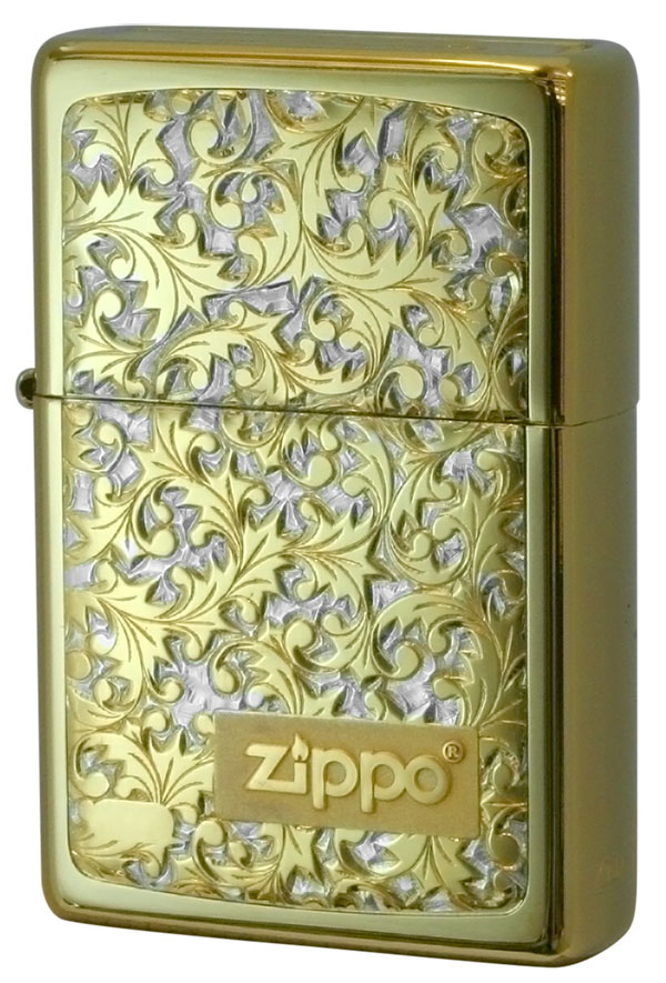 Zippo ジッポー BottomzUp #382 金チタン #K-8