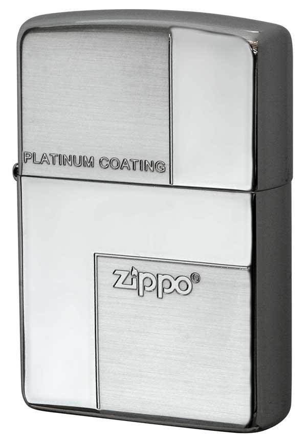 Zippo ジッポー PLATINUM COATING PZ#F メール便可