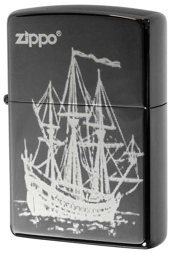 Zippo ジッポー 帆船 #ガンメタ