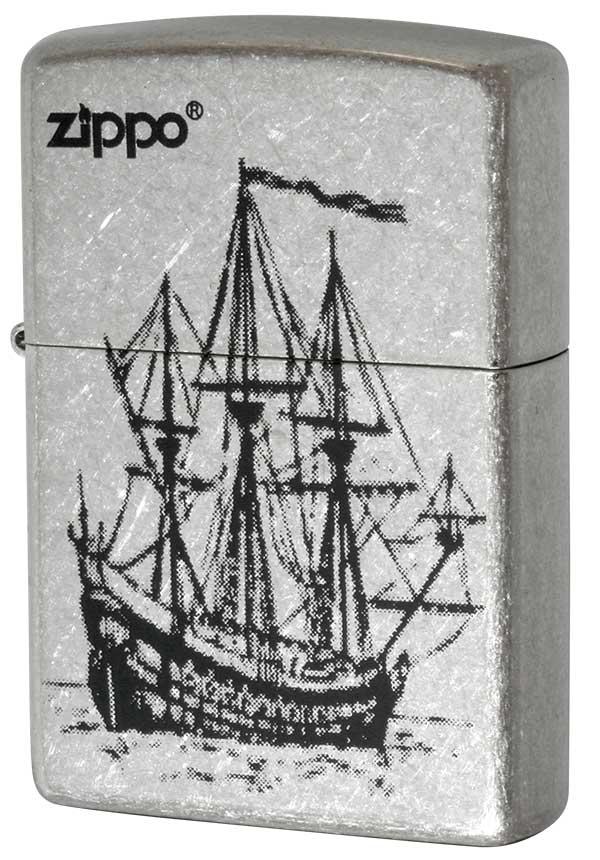 Zippo ジッポー 帆船 #Sバレル メール便可