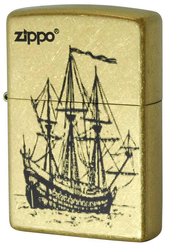 Zippo ジッポー 帆船 #Gバレル メール便可