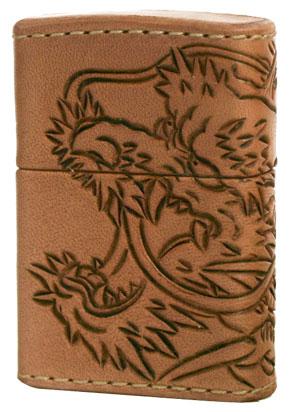 Zippo ジッポー Leather Works CHAOS LWC(Z)龍神