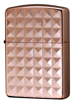 Zippo ジッポー Binary Form Pyramid (C)ローズピンク