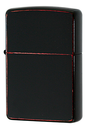 Zippo ジッポー Bloody BLACK Damage Coating メール便可