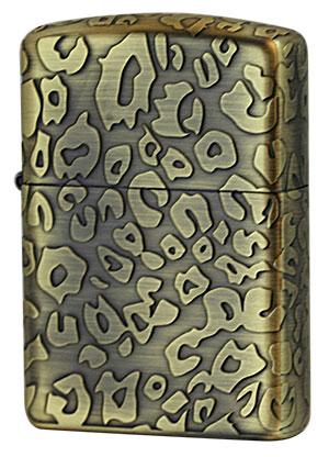 Zippo ジッポー アンティーク LEOPARD(A)Brass
