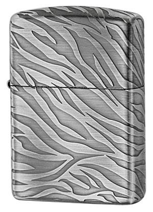 Zippo ジッポー アンティーク TIGER(B)Silver