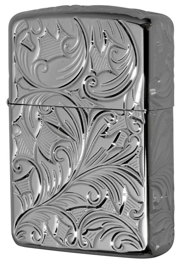 Zippo ジッポー アーマー 5面立体彫刻 5NC-LEAF A