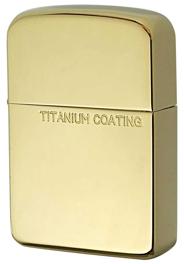 Zippo ジッポー Titanium Coating チタニュームコーティング 1941TC-G メール便可