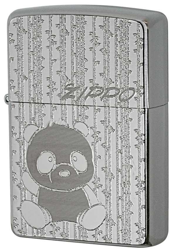 Zippo ジッポー 200 Flat Bottom Metal Plate 真鍮板メタルプレート 2MP-パンダ メール便可