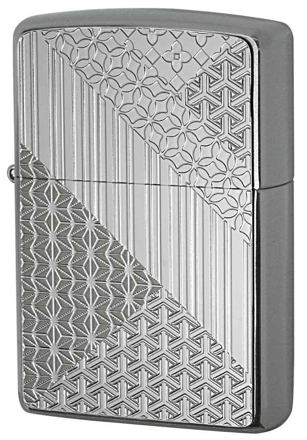 Zippo ジッポー Metal Plate 真鍮板メタルプレート 2MP-組木模様 メール便可