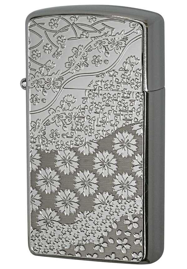 Zippo ジッポー Metal Plate 真鍮板メタルプレート 16MP-桜 メール便可