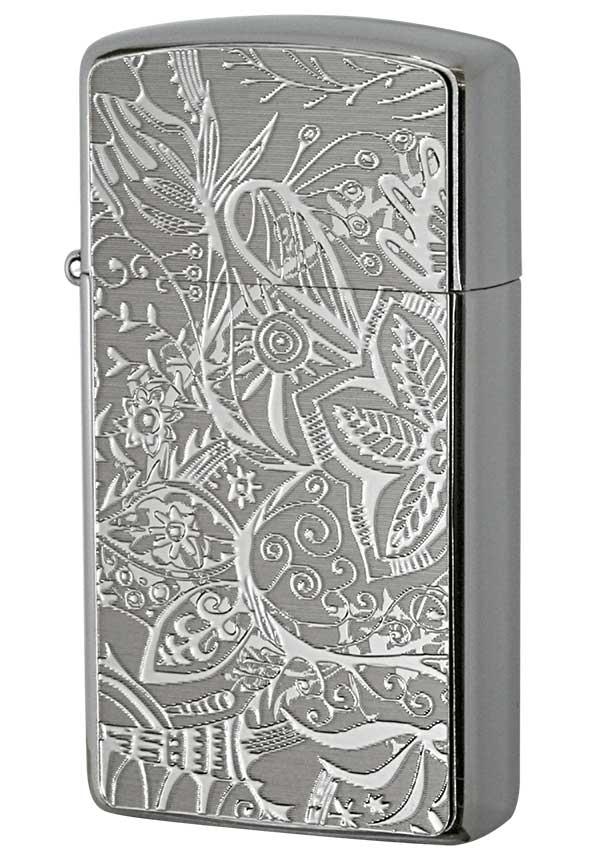 Zippo ジッポー Metal Plate 真鍮板メタルプレート 16MP-ボタニカル メール便可