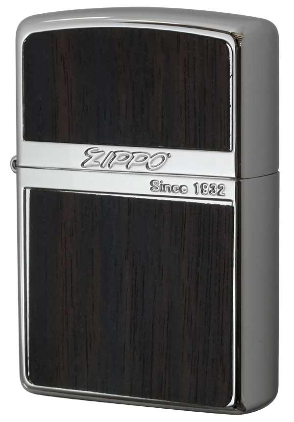 Zippo ジッポー Wood Series ウッドシリーズ WN-Wood ダーク 黒檀 メール便可