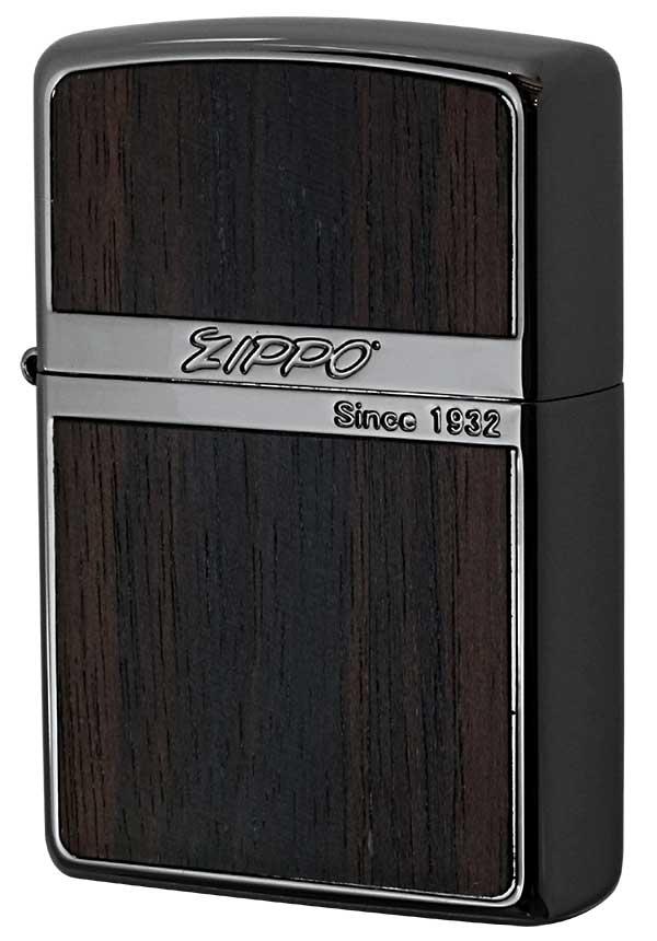Zippo ジッポー Wood Series ウッドシリーズ NB-Wood ダーク 黒檀