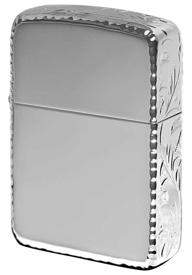Zippo ジッポー 1941レプリカ 3HC Hand Cut ホワイトニッケル WN