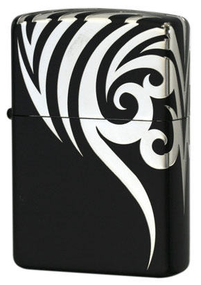 Zippo ジッポー Tribal #200Version 2BK-TRS5