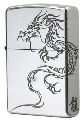 Zippo ジッポー Tiger & Dragon 2SI-DR2