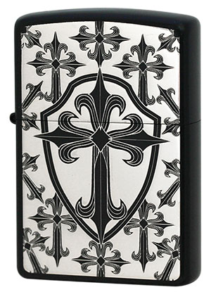 Zippo ジッポー THE CROSS 2BKS-GCROS