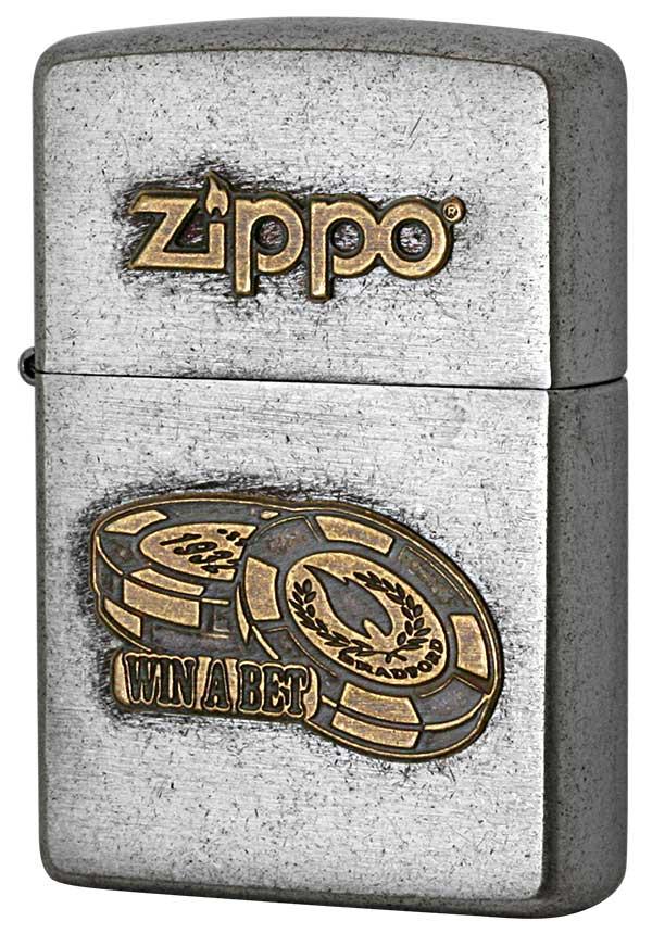 Zippo ジッポー LOGO METAL ロゴメタル 2SFM-BET