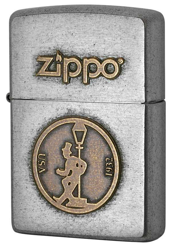Zippo ジッポー LOGO METAL ロゴメタル 2SFM-DRUNK