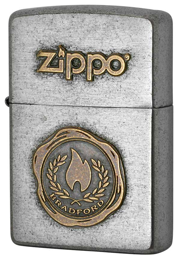 Zippo ジッポー LOGO METAL ロゴメタル 2SFM-FLAME