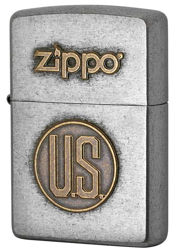 Zippo ジッポー LOGO METAL ロゴメタル 2SFM-US