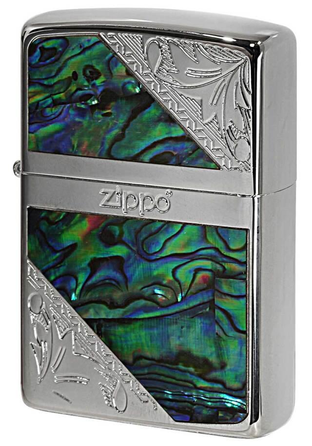 Zippo ジッポー Arabesque&Shell 2KS-WPC