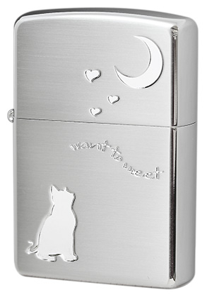 Zippo ジッポー CAT in LOVE 2CAT-SSA