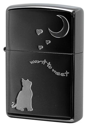 Zippo ジッポー CAT in LOVE 2CAT-BNA メール便可