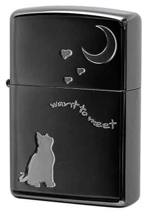 Zippo ジッポー CAT in LOVE 2CAT-BNA