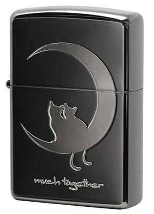 Zippo ジッポー CAT in LOVE 2CAT-BNB メール便可
