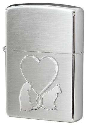 Zippo ジッポー CAT in LOVE 2CAT-SSC