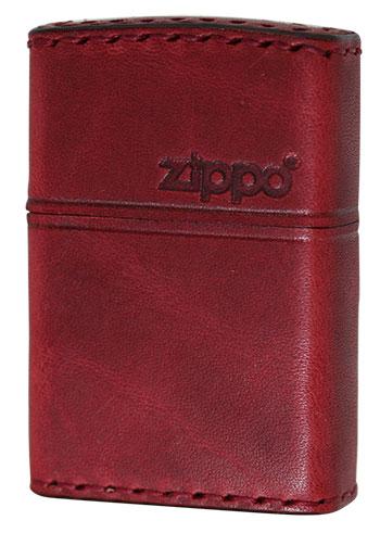 Zippo ジッポー REAL LEATHER RD-5 メール便可