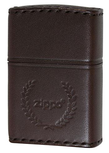 Zippo ジッポー REAL LEATHER DB-7 メール便可