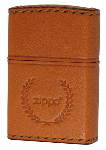 Zippo ジッポー REAL LEATHER LB-7 メール便可