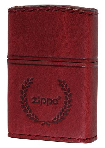 Zippo ジッポー REAL LEATHER RD-7 メール便可