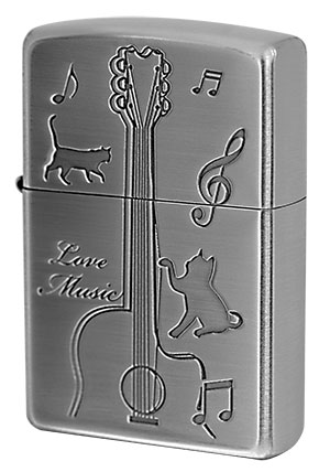 Zippo ジッポー CATS play the GUITAR CATG-NB