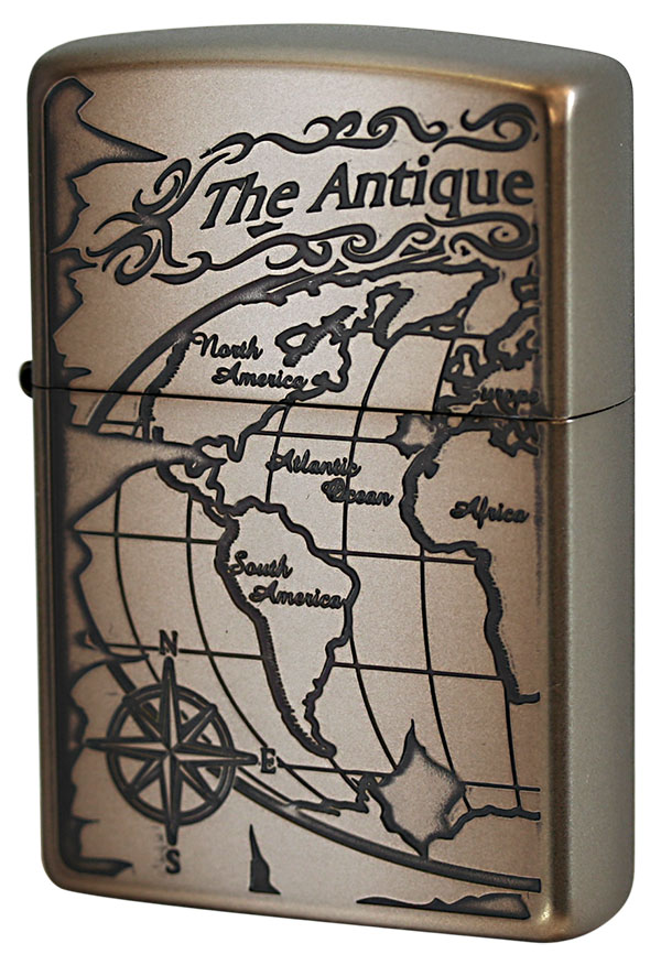 Zippo ジッポー The Antique World Map 2WM-VNI