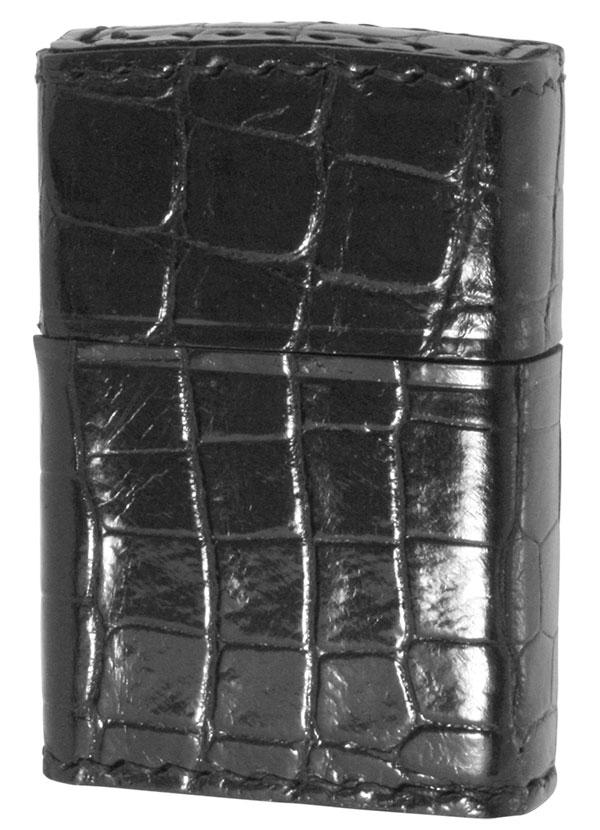 Zippo ジッポー Animal Leather アニマルレザー  2Z-CROCOBK