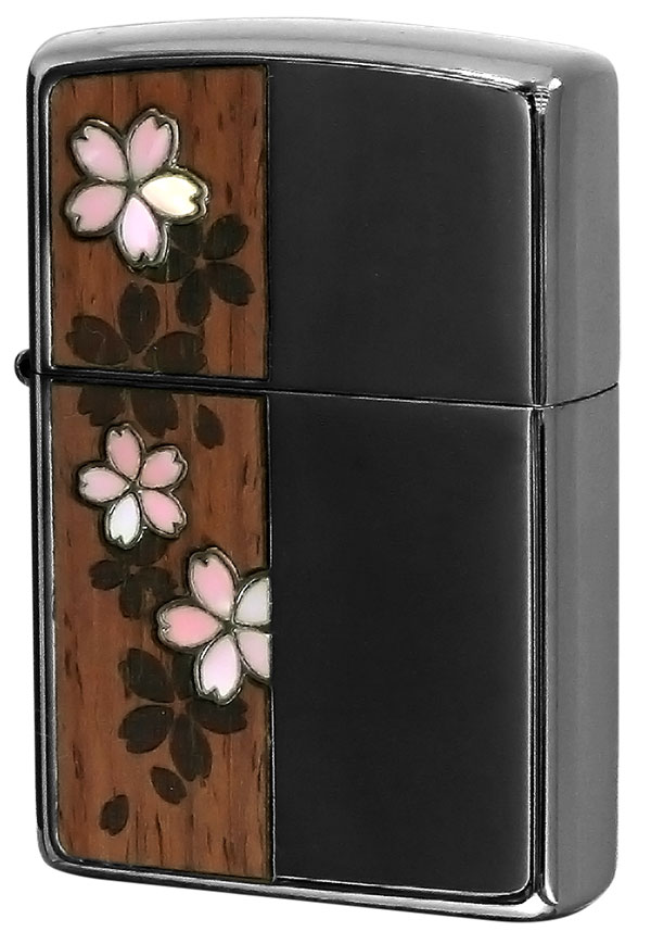 Zippo ジッポー Shell&Wood 桜 Cherry blossoms 2CSW-BN
