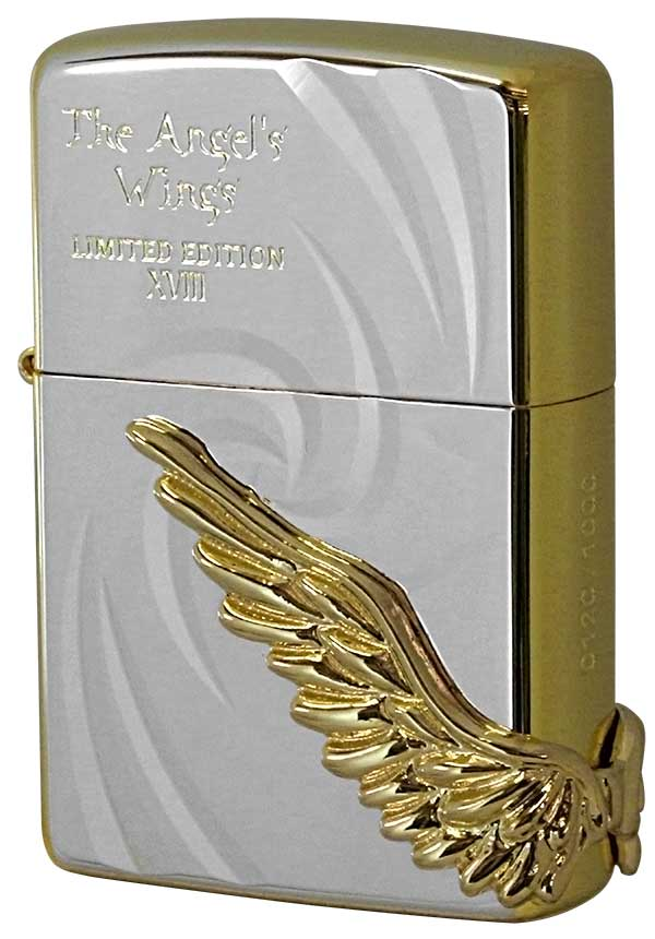 Zippo ジッポー 限定1,000個 PAW-118 ANGEL'S WINGS エンジェルウィングス PAW-118SPG