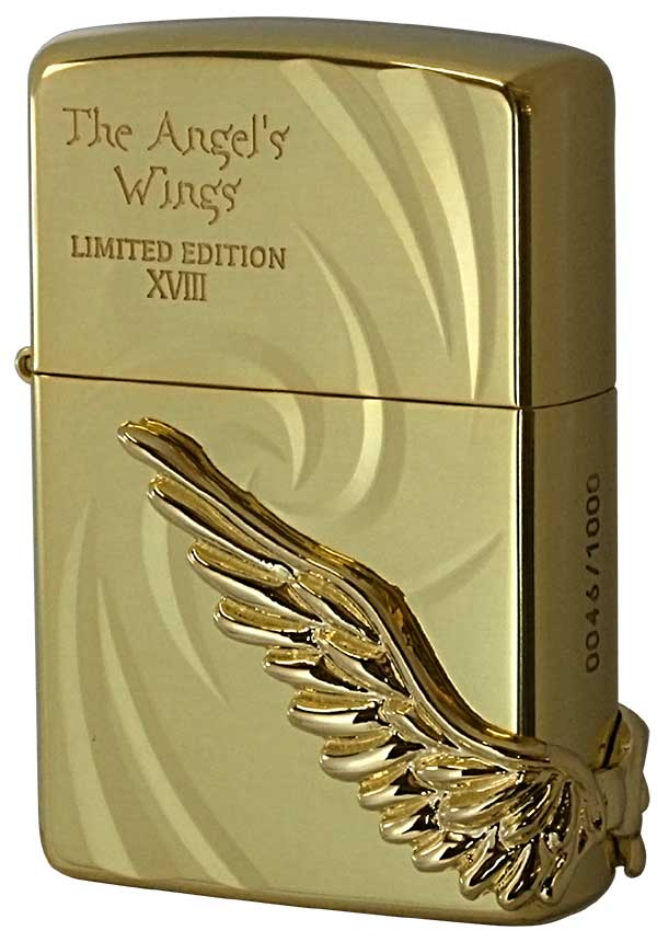 Zippo ジッポー 限定1,000個 PAW-118 ANGEL'S WINGS エンジェルウィングス PAW-118GG