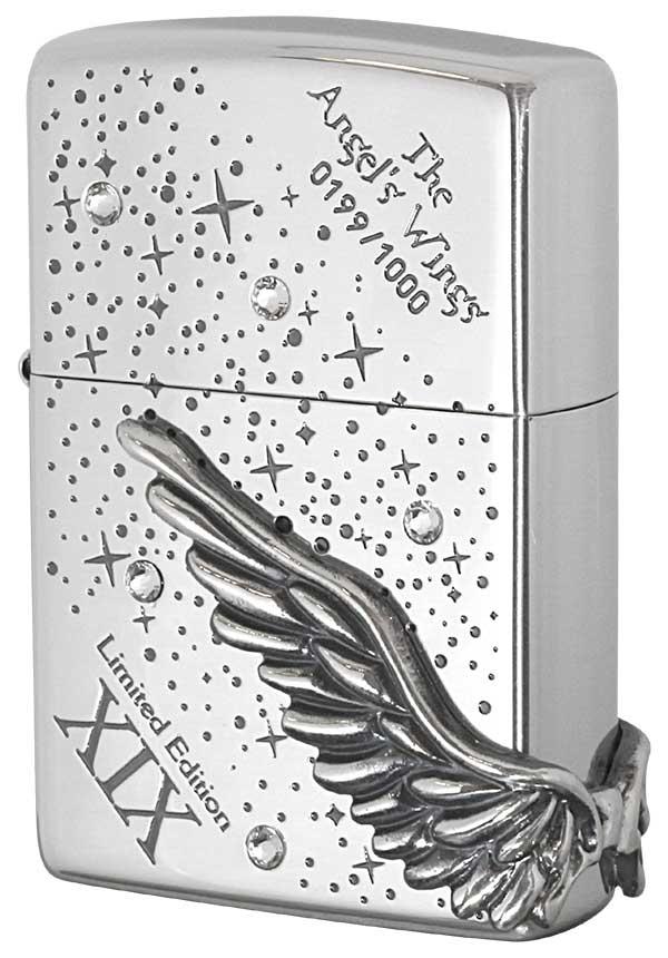 Zippo ジッポー 限定1,000個 ANGEL'S WINGS エンジェルウイングス PAW-119SI
