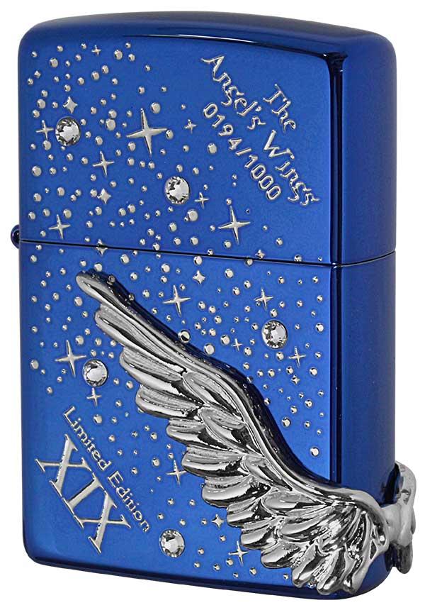 Zippo ジッポー 限定1,000個 ANGEL'S WINGS エンジェルウイングス PAW-119BLS